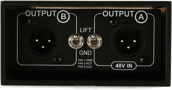 Type 85S Direct Box outputs