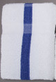 24 x 48 Economy Bath Towel (blue center stripe, 60/case)