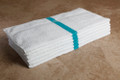 24 x 48 Economy Bath Towel (green center stripe, 60/case)