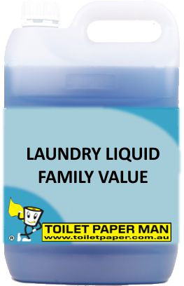 Toilet Paper Man - Laundry Liquid - Family Value - 5 Litre
