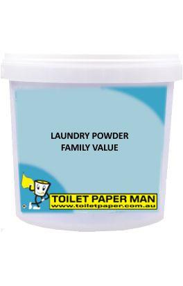 Toilet Paper Man - Laundry Powder - Family Value - 5 kg Bucket