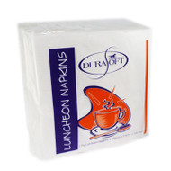 White Luncheon Serviettes - 2ply - 315 x 315 mm - 100 Sheets