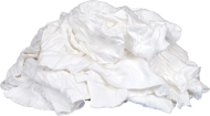 White Knit Rags - 15 kg/Bag - 4 Bags