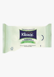 Kleenex Cottonelle Flushable Unscented Cleansing Cloths - 42 Per Pack - 10 Packs