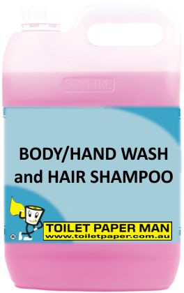 Toilet Paper Man - Body Hand Wash and Hair Shampoo - 20 Litre