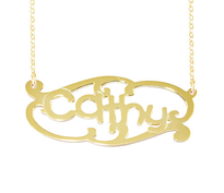 Name Necklace Cathy