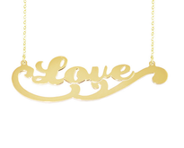 Personalized Name Necklace Love Style