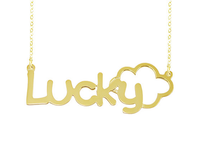 Personalized Name Necklace Lucky Style