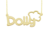 Personalized Name Necklace Dolly Style