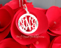 Circle of Life Monogram Necklace