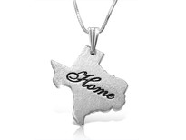 Personalized Any State Necklace