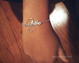 free hand bracelet personalized with any name
