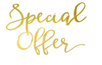 Special 2 Day Offer