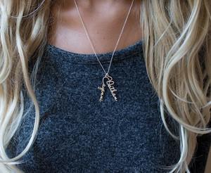 Custom Charm Necklace Venus Style