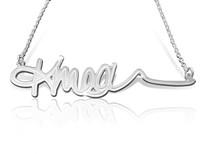 Name Necklace with signature