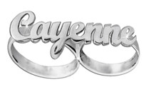 Two Fingers Ring Name Cayenne Style
