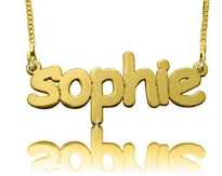 Comic Script Name Necklace