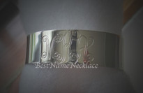 Cuff Monogram Bracelet