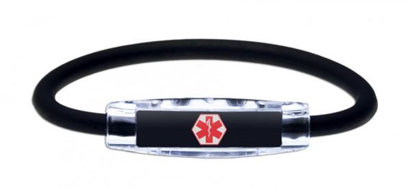 IonLoop Medical Alert Bracelet  (front view)