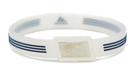 Limited Edition adidas SPORT - Navy & Transparent Negative Ion Wristband