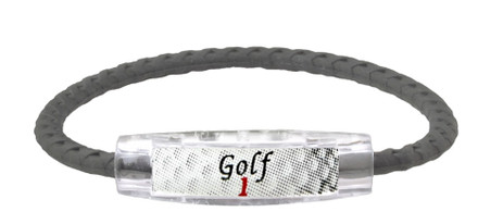 Golf 1 Magnetic and Ion Bracelet (front view)