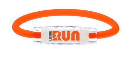 IonLoop LIFE TIME RUN Bracelet with Negative Ions & Magnets (front view)