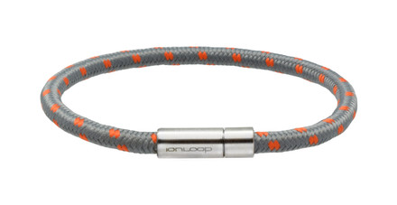 Solo Cord Cool Gray Negative Ion Bracelet