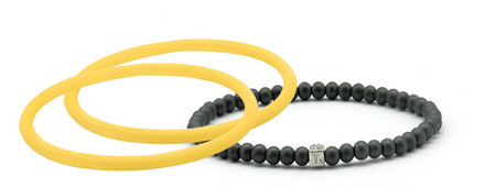 mag/fusion Mellow Yellow Pak 1 mag/fusion magnetic Bracelet, 2 IonThins (Mellow Yellow)