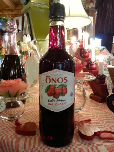 Onos Swedish Raspberry concentrate