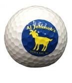 Goat Logo Golf Ball