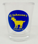 Goat Logo Shot Glass