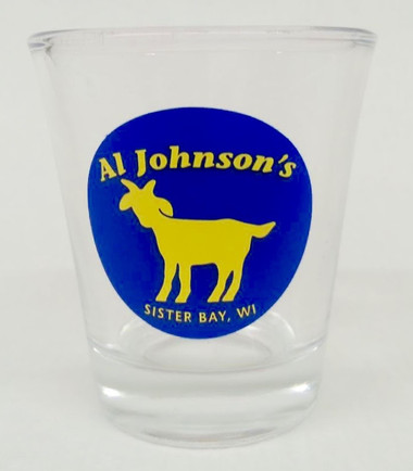 Goat Logo Shot Glass