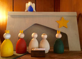 God Jul Swedish Nativity Set