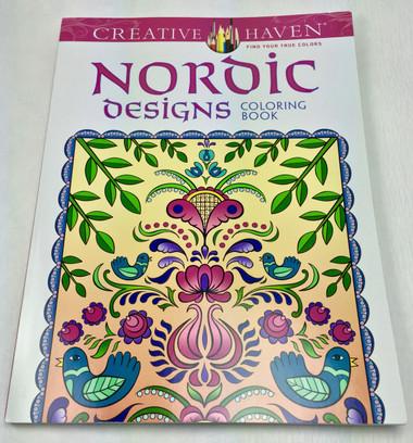 Nordic Design Coloring Book