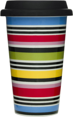 Striped Cafe Go Mug