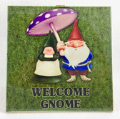 Welcome Gnome Trivet