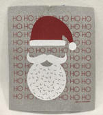 Ho Ho Ho Santa Swedish Dishcloth