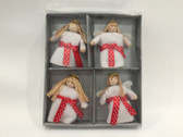 Lucia 4 piece ornaments