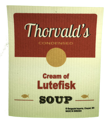 Thorvald's Cream of Lutefisk Soup