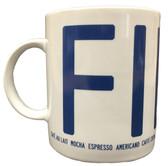 Fika coffee mug (blue)