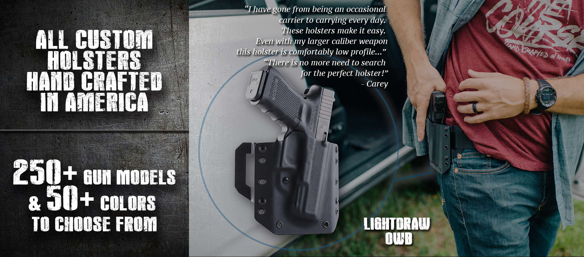 LightDraw OWB by Vedder Holsters