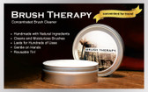 Receive 8 times the amount of brush cleaner with Old Masters concentrated Brush Therapy.