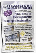 Headlight Restorer and Defogger