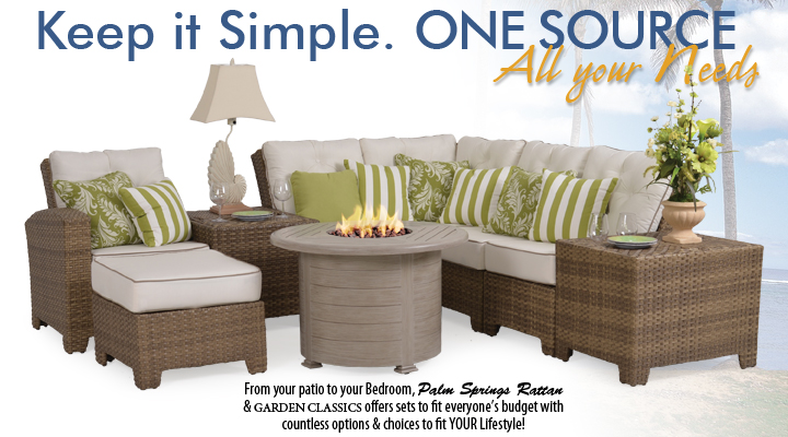 6300 Series Sectional Shown with Fire Pit