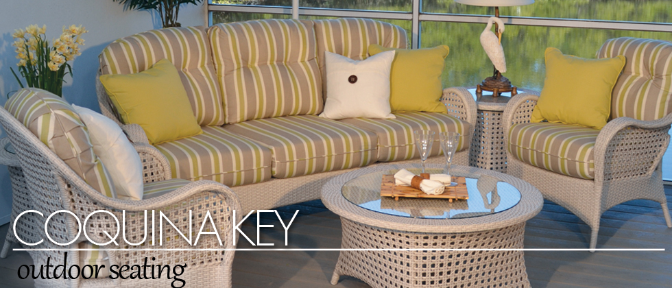Coquina Key Outdoor Wicker Seating