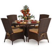 6000 Series Outdoor Dining Set Tortoise Shell