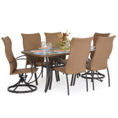 3200 Series Outdoor 7 Pc. High Back Dining Set