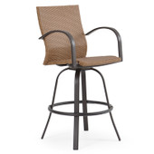 3245 Outdoor Wicker Swivel Barstool