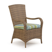6010 Patio Arm Dining Chair Oyster Grey
