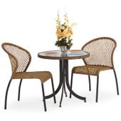 3200 Series 3pc Bistro Set Coconut